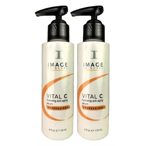 Image Vital C Hydrating Face Anti-Aging Serum Professional 4 oz ea TWO