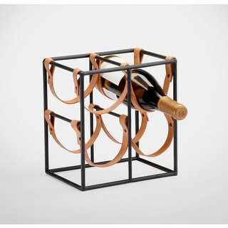 "Cyan Design 4913 9.5"" Small Wine Rack"