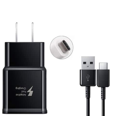 Samsung Adaptive Fast Charge Travel Charger with USB to USB-C Cable (Retail Package)
