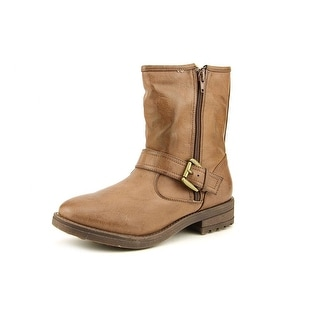 Mia Jania Women  Round Toe Synthetic Brown Ankle Boot