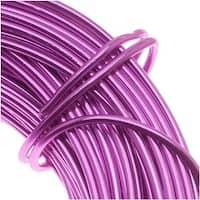 Aluminum Craft Wire Purple 18 Gauge 39 Feet (11.8 Meters)