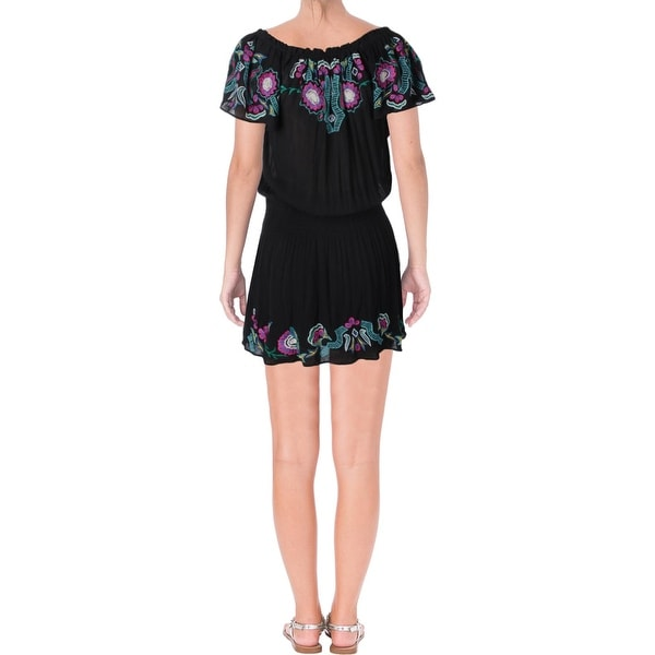 b761ed5e43a1 Shop Parker Womens Tammy Casual Dress Embroidered Off-The-Shoulder - Free  Shipping On Orders Over $45 - Overstock.com - 21803400
