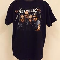 "Metallica ""World Magnetic Tour"" Adult Size Xl Xlarge  Concert T-Shirt  78Ay"