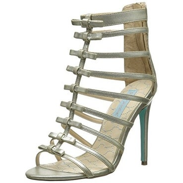 Betsey Johnson Womens SB TIE Open Toe Bridal Strappy Sandals - 7