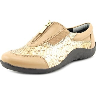 Ros Hommerson Nadia Round Toe Leather Sneakers