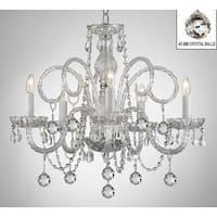 Swarovski Elements Crystal Trimmed Chandelier Lighting All Crystal Chandelier Lighting