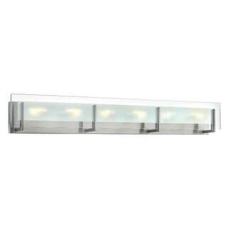Hinkley Lighting 5656 6 Light ADA Compliant Bath Bar from the Latitude Collection