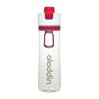 Aladdin 10-02671-002 Tracker Water Bottle, Tritan, Clear/Pink, 26 Oz