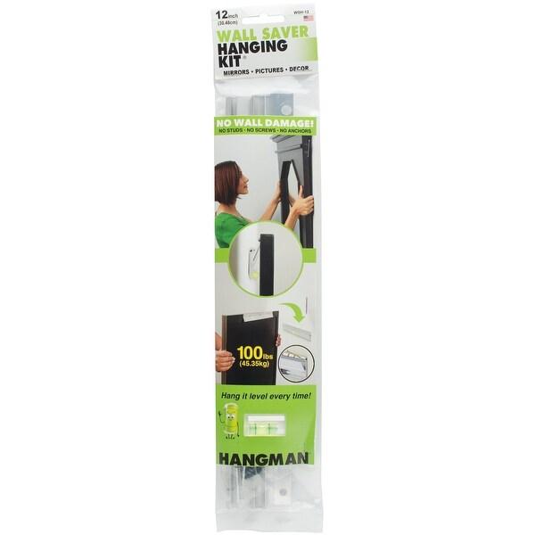"""Wall Saver Hanging Kit 12"""" 100lbs-"""