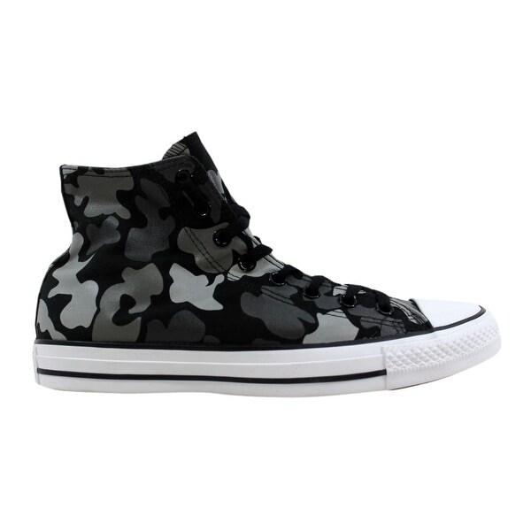 70d110dd5118 Shop Converse Chuck Taylor All Star Hi Black White-Charcoal 153821F ...