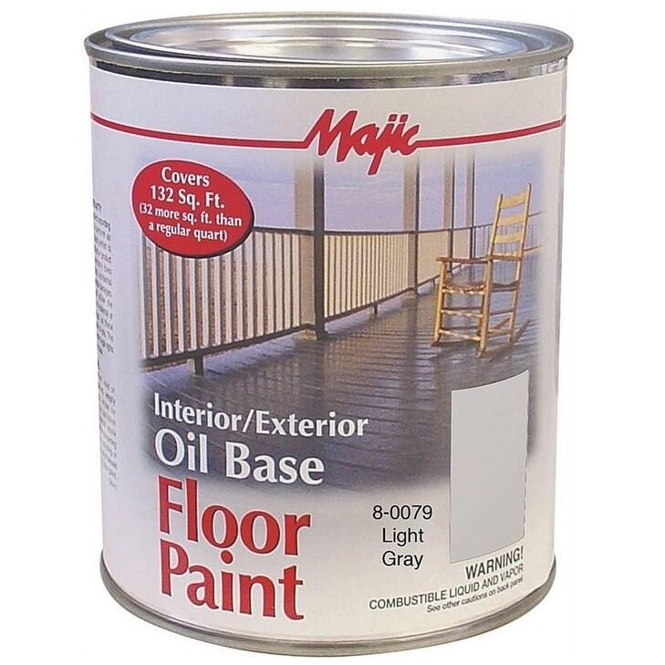Interior Exterior Oil Floor Paint