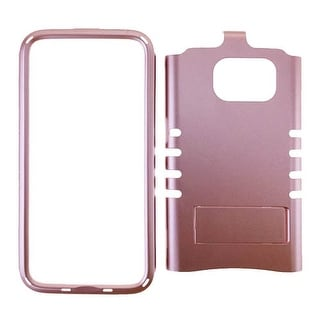 Rocker Series Snap-On Protector Case for Samsung Galaxy S7 (Metallic Rose Gold)