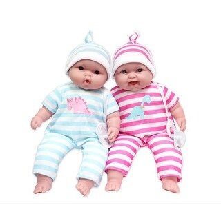 Lots to Cuddle Babies Soft Body Baby Doll Twin Set, Caucasian