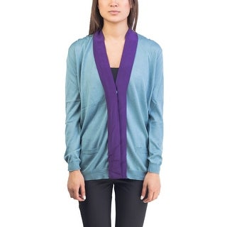 Prada Women's Wool Silk Blend Cardigan Two Tone (3 options available)