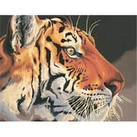 Dimensions 343714 Paint By Number Kit 14 in. x 11 in. -Regal Tiger