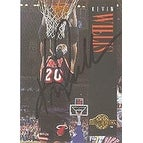Kevin Willis Miami Heat 1995 Skybox Autographed Card Nice Autograph This item comes with a certificate of authentic