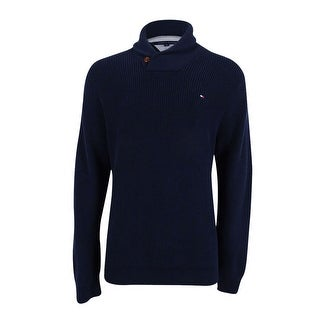 Tommy Hilfiger Men's Harrington Shawl-Collar Sweater