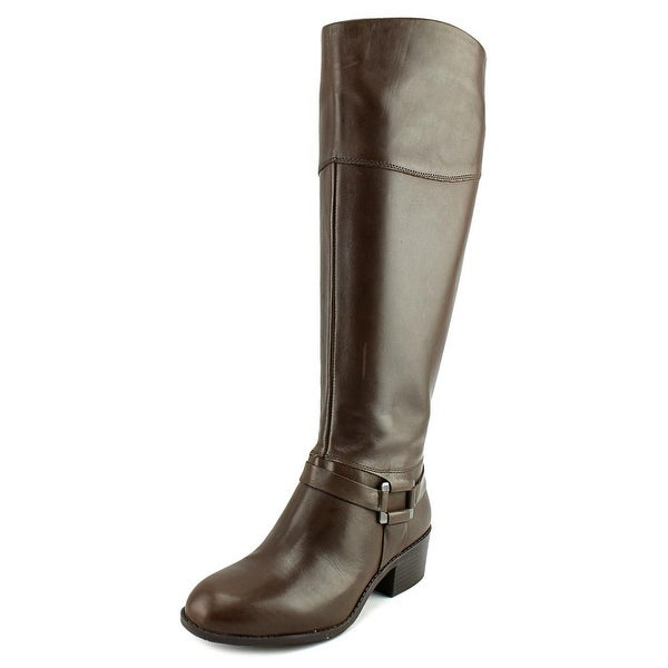 Alfani Biliee Wide Calf Women Dark Roast Boots