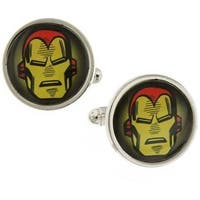 Iron Man Marvel Superhero Cufflinks