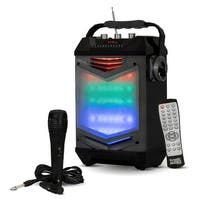 Acoustic Audio TG65GS Portable Bluetooth Rechargeable Speaker LED Display & Mic