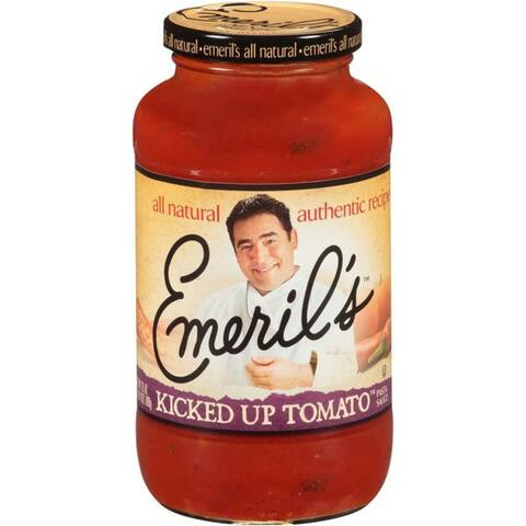 Emeril's Kicked Up Tomato Pasta Sauce 25 Oz (Pack of 6)