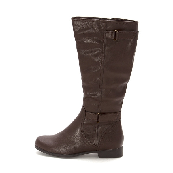 Hush Puppies Womens Motive Round Toe Mid-Calf Fashion Boots