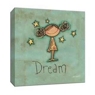 "PTM Images 9-152106  PTM Canvas Collection 12"" x 12"" - ""Dream"" Giclee Children Art Print on Canvas"