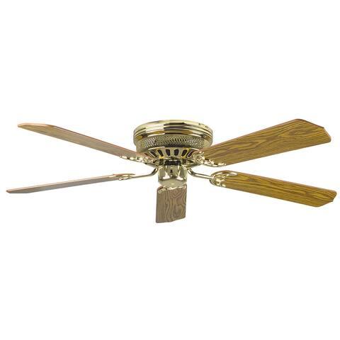"Hugger 52"" Low Profile Indoor Ceiling Fan"
