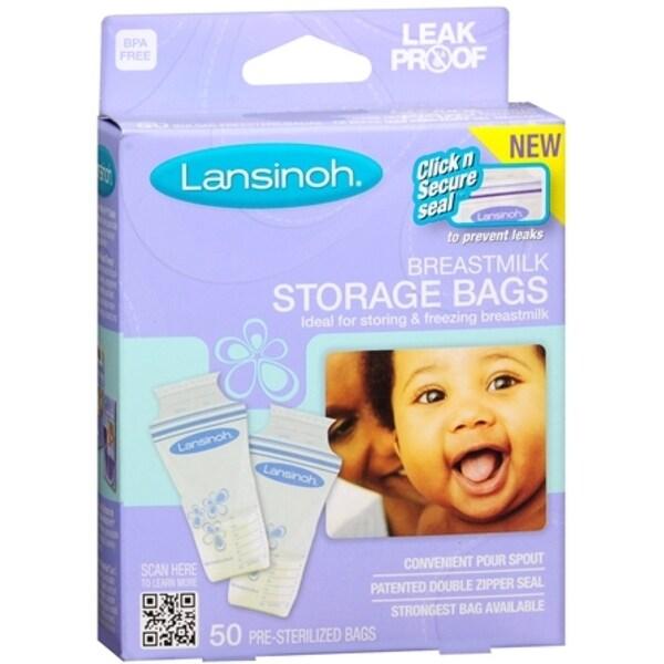 Lansinoh Breastmilk Storage Bags 50 Each