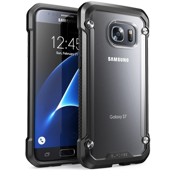 SUPCASE-Samsung Galaxy S7-Unicorn Beetle Series Hybrid Protective Case -Clear