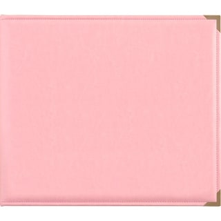 """Link to Kaisercraft Leather D-Ring Album 12""""X12""""-Pink - Pink Similar Items in Albums"""