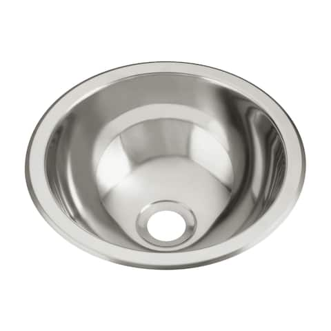 "Sterling 1411-0 13.625"" Single Basin Drop in or Undermount Stainless - Stainless Steel"