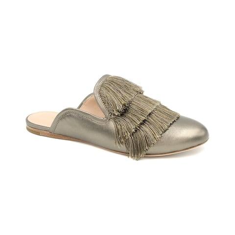Rachel Zoe Kaius Fringe Leather Flat