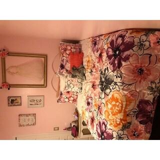 Taylor & Olive Chipman Floral Microfiber 5-piece Comforter Set
