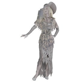 Spooky Ghostly Gal Halloween Costume for Adults - standard (6-14)
