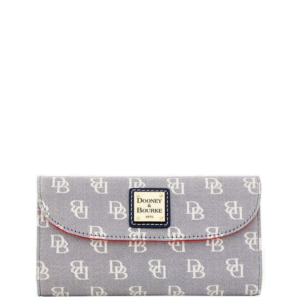 Dooney & Bourke Madison Signature Continental Clutch (Introduced by Dooney & Bourke at $118 in Jan 2016)