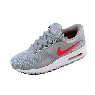 Nike Grade-School Air Max Zero Essential Wolf Grey/Racer Pink-White 881229-003