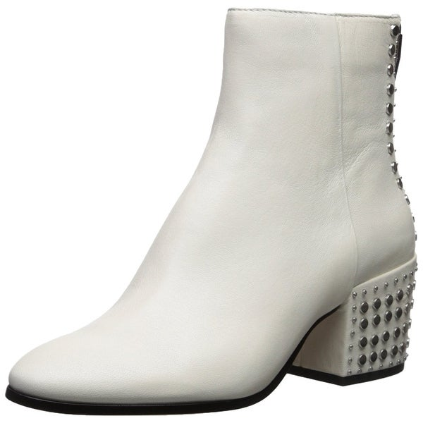 Dolce Vita Womens Mazey Leather Almond Toe Ankle Fashion Boots