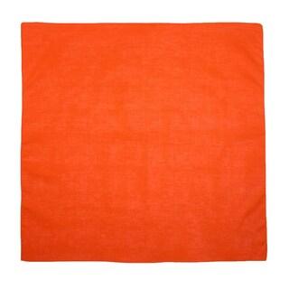 CTM® Cotton Solid Color Bandanas - One size