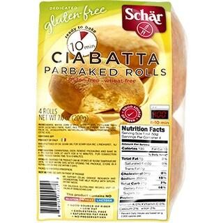 Schar - Ciabatta Rolls ( 6 - 7 oz bags)