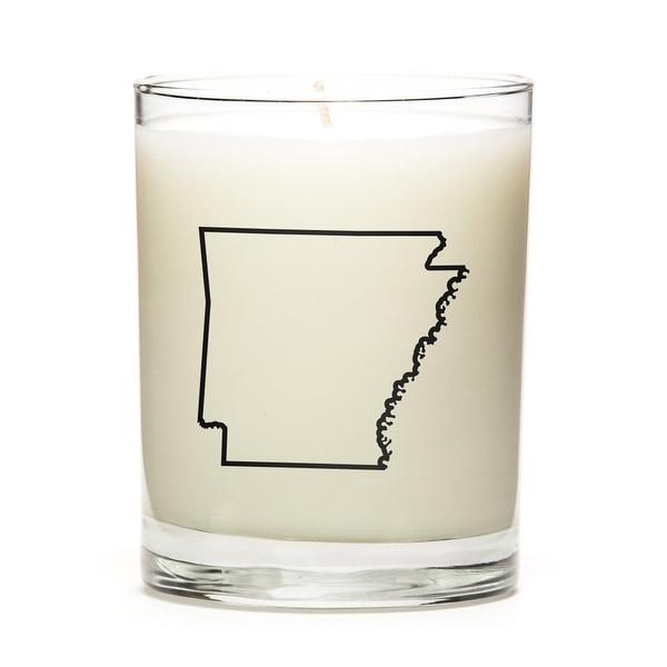 Custom Gift - Map Outline of Arkansas U.S State, Apple Cinnamon