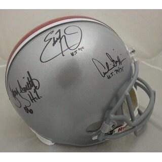 Ohio State Buckeyes Heisman Autographed Full Size Replica Helmet George, Griffin & Smith JSA