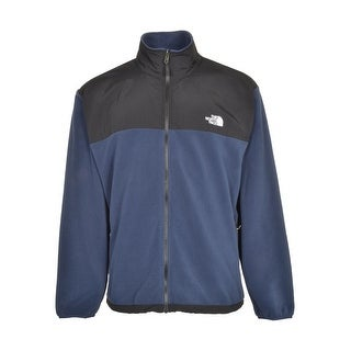 The North Face Kahuna Deep Water Blue Full Zip Fleece Jacket Large L