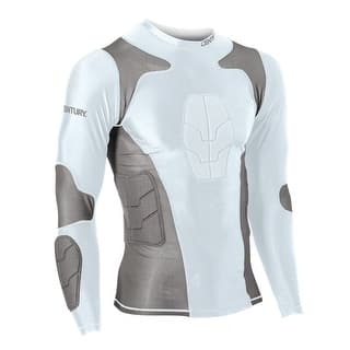Century Padded Compression Shirt - Long Sleeve|https://ak1.ostkcdn.com/images/products/is/images/direct/3273637d01f7ef69aef3899bbb0e32e8def6169e/Century-Padded-Compression-Shirt---Long-Sleeve.jpg?impolicy=medium