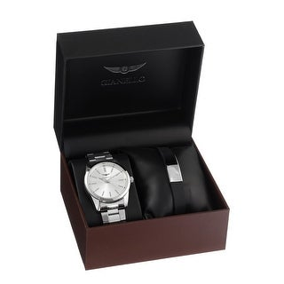Link to Gianello Mens Link Watch and Bracelet Set Similar Items in Men's Watches