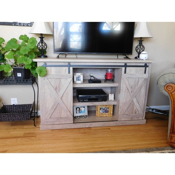 Cottonwood Tv Stand For Tvs Up To 60 Inches Ashland Pine Free Shipping Today 15210307