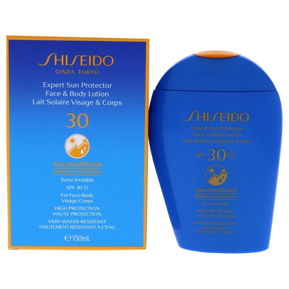 Expert Sun Protector Face And Body Lotion Spf 30 By Shiseido For Women - 5 Oz Sunscreen (Body Sunscreen)