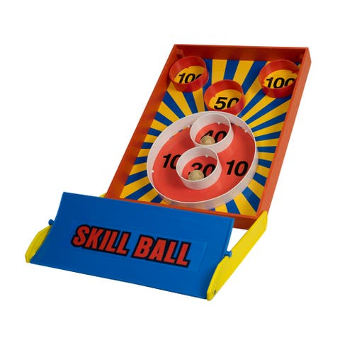 Wooden Skill Ball Game