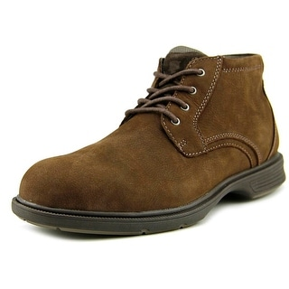 Florsheim NDNS Chukka BT Men W Round Toe Leather Brown Oxford