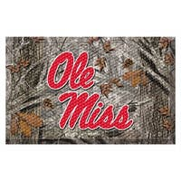 NCAA University of Mississippi (Ole Miss) Rebels Shoe Scraper Door Mat